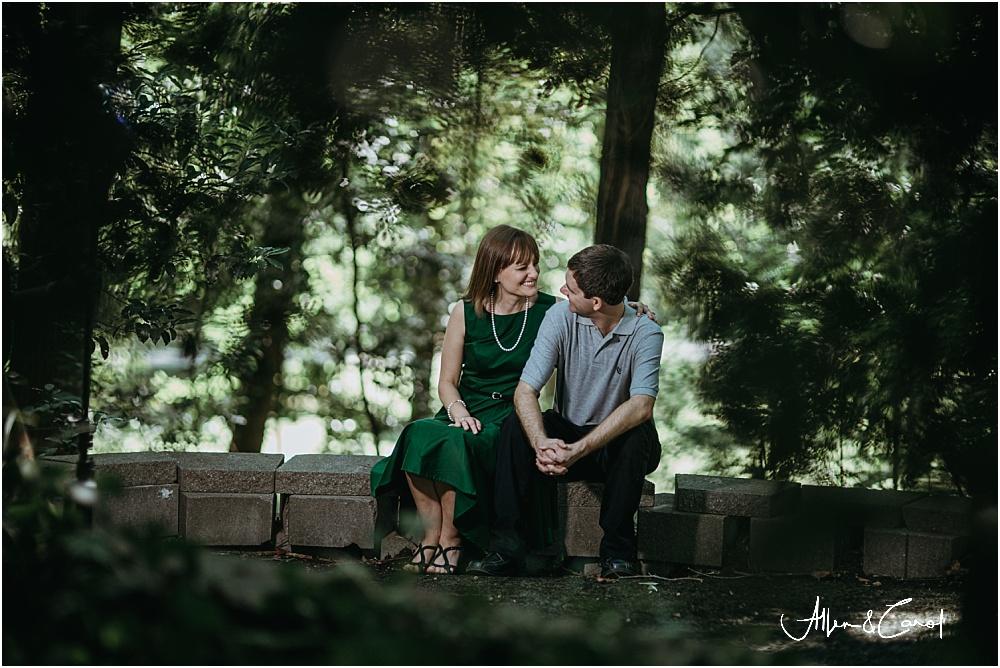 Engagement Photos at Tanyard Creek Park Atlanta Beltline