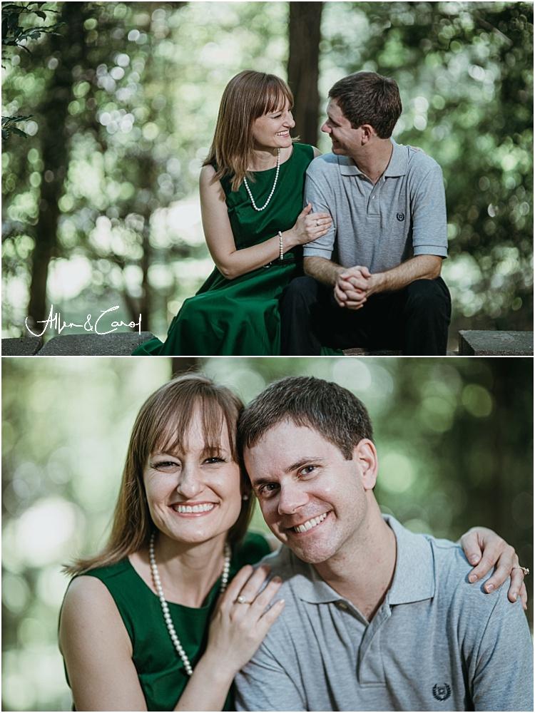 Engagement Photos at a park in Atlanta