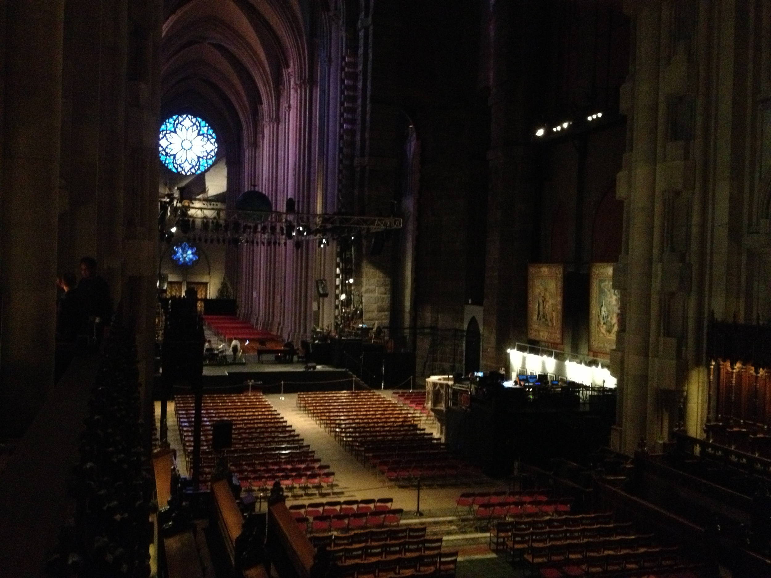 So very fortunate to be one of many artists in residence at the Cathedral St. John the Divine in New York.