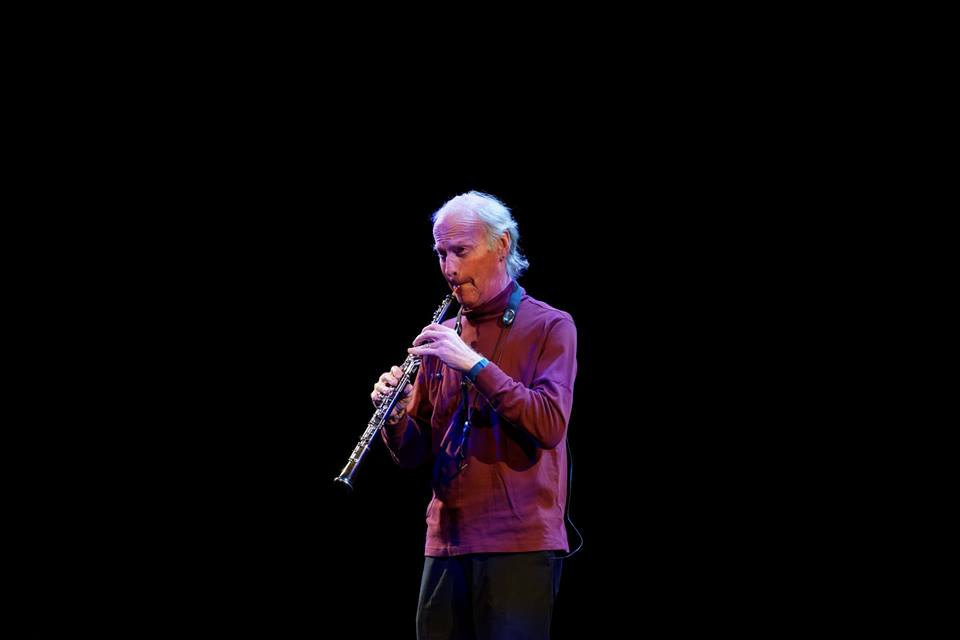 The master of all things wood wind, Paul McCandless on oboe.