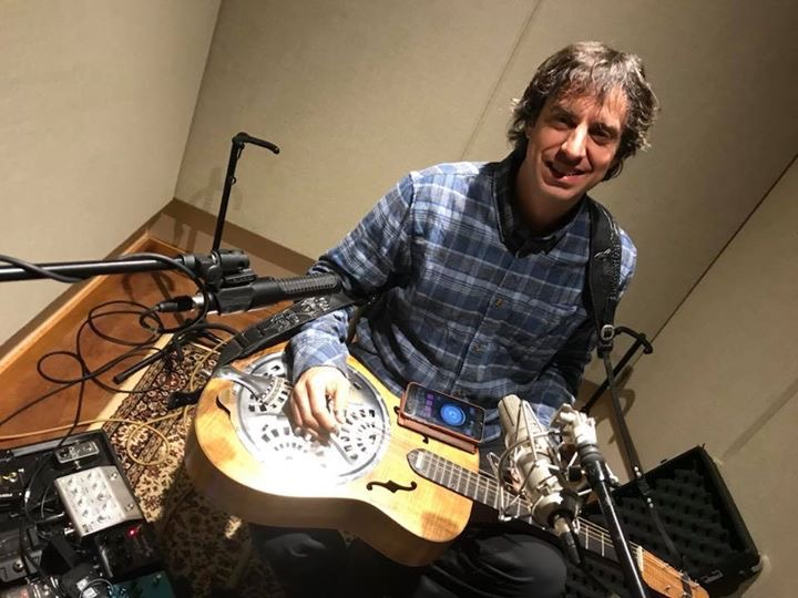 In April of 2018 Free Planet Radio records with singer/songwriter Jane Kramer. Sound Temple Studios Asheville, NC. This is the always amazing Billy Cardine on dobro.