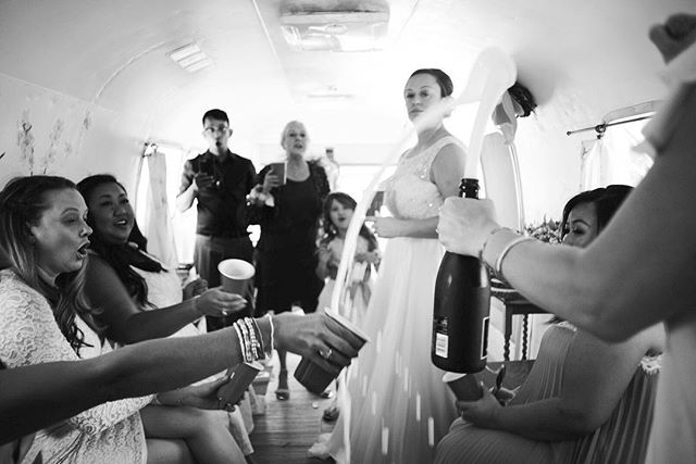 A fleeting moment from last weekends wedding. . . . . . #dreamersdiary #airstreamweddings #bw #carlzeiss25mm #farmwedding #lyons #amoment #toast #champagne #nostalgicweddingmoments
