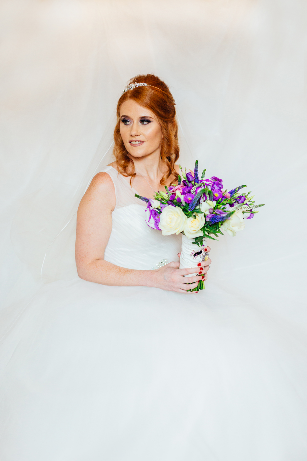 vintage style wedding photography chesterfield
