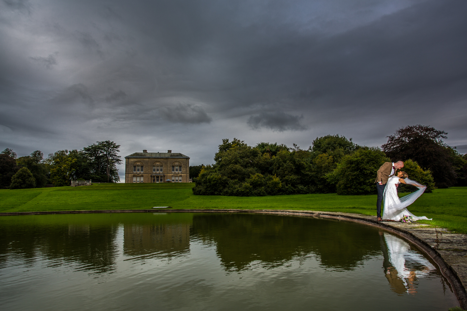 wedding at sledmere house