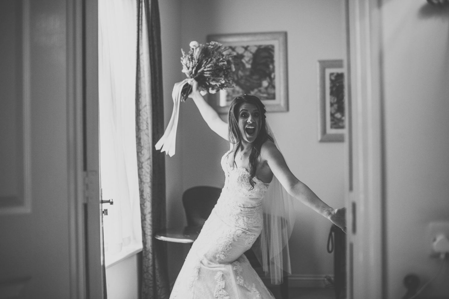 fun Yorkshire wedding photographers