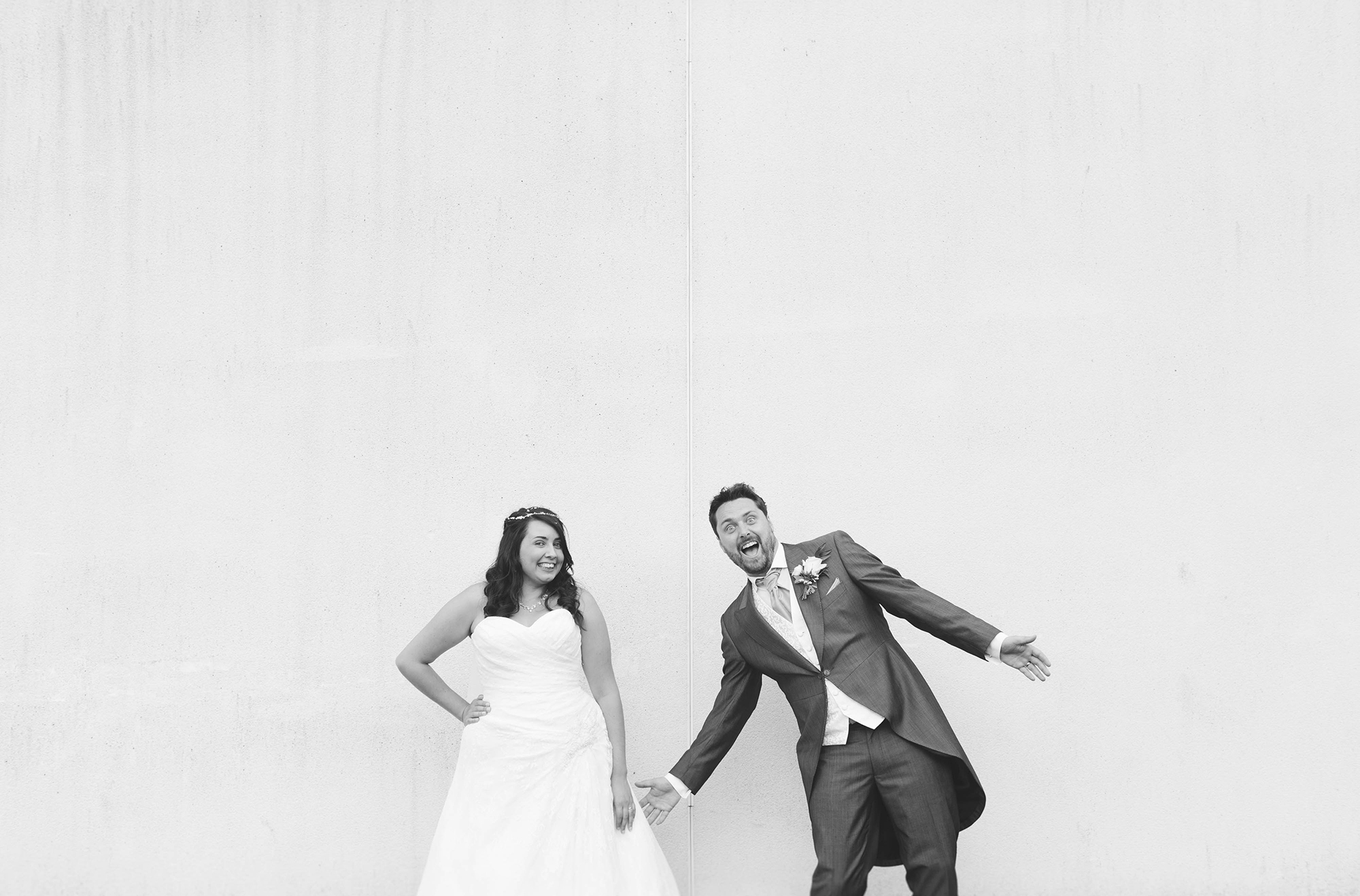 fun Yorkshire wedding photographers in Yorkshire