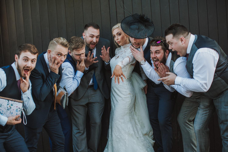 fun wedding photographers in sheffield