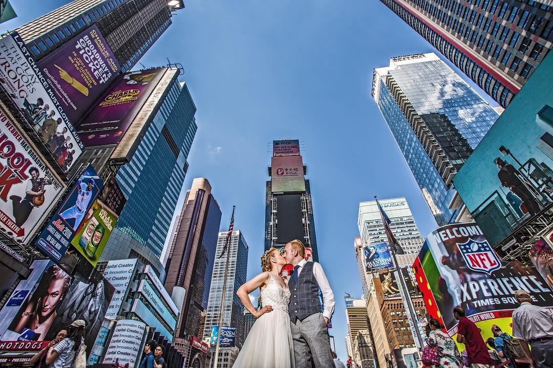 New York destination wedding photographers