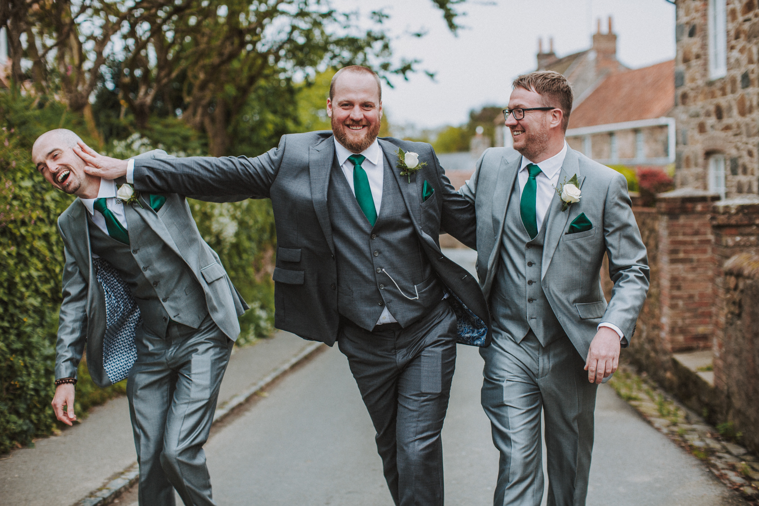 fun wedding photographers in Guernsey
