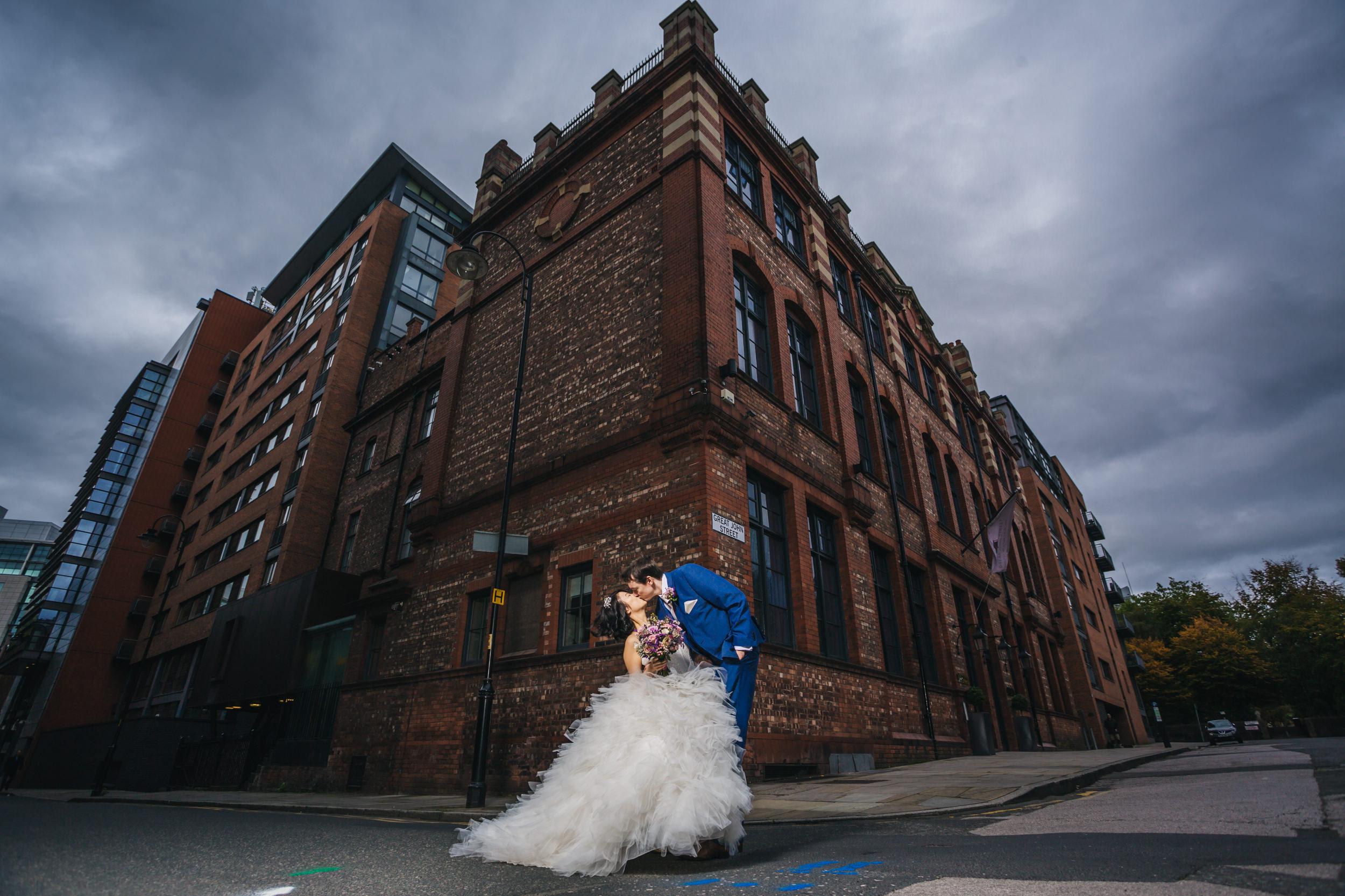 great John street hotel Manchester wedding photographers