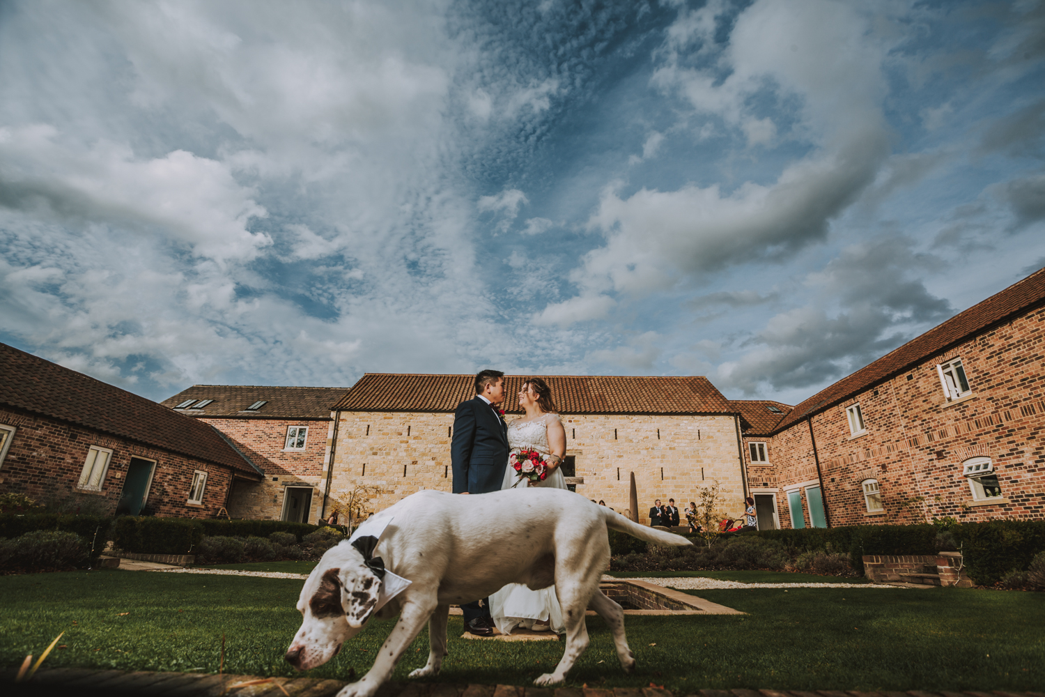 wedding photography priory barn and cottages