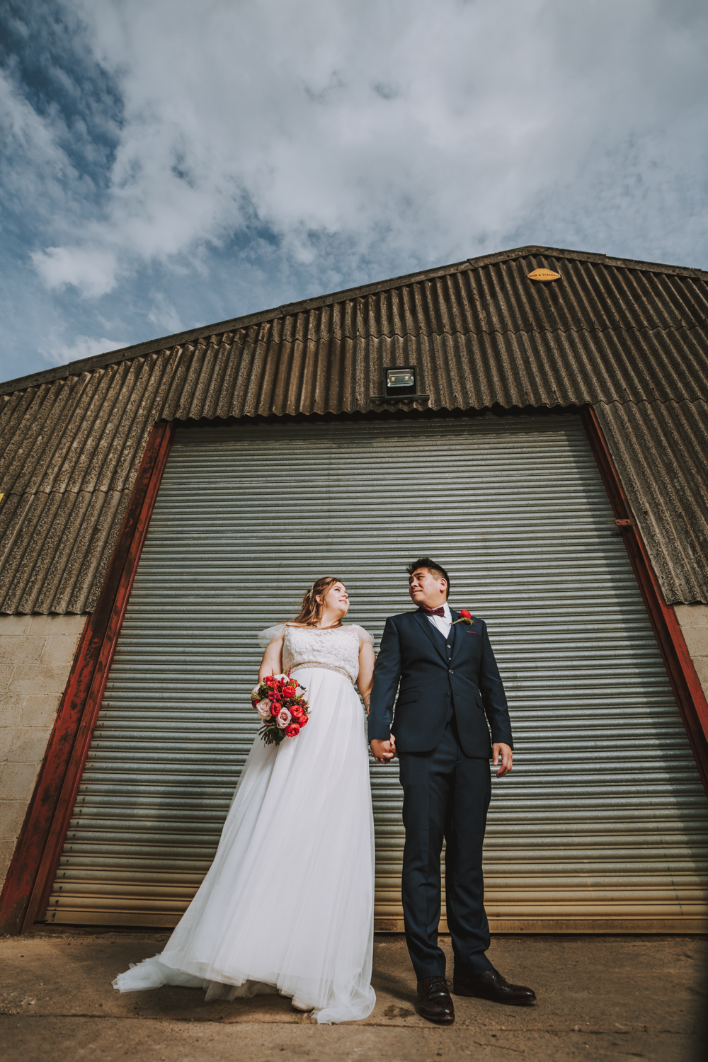 wedding photographers the priory cottages wetherby