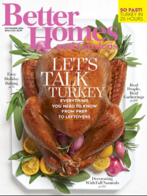 Better Homes & Gardens - Let's Talk Turkey with The Farm Cooking School - November 2016