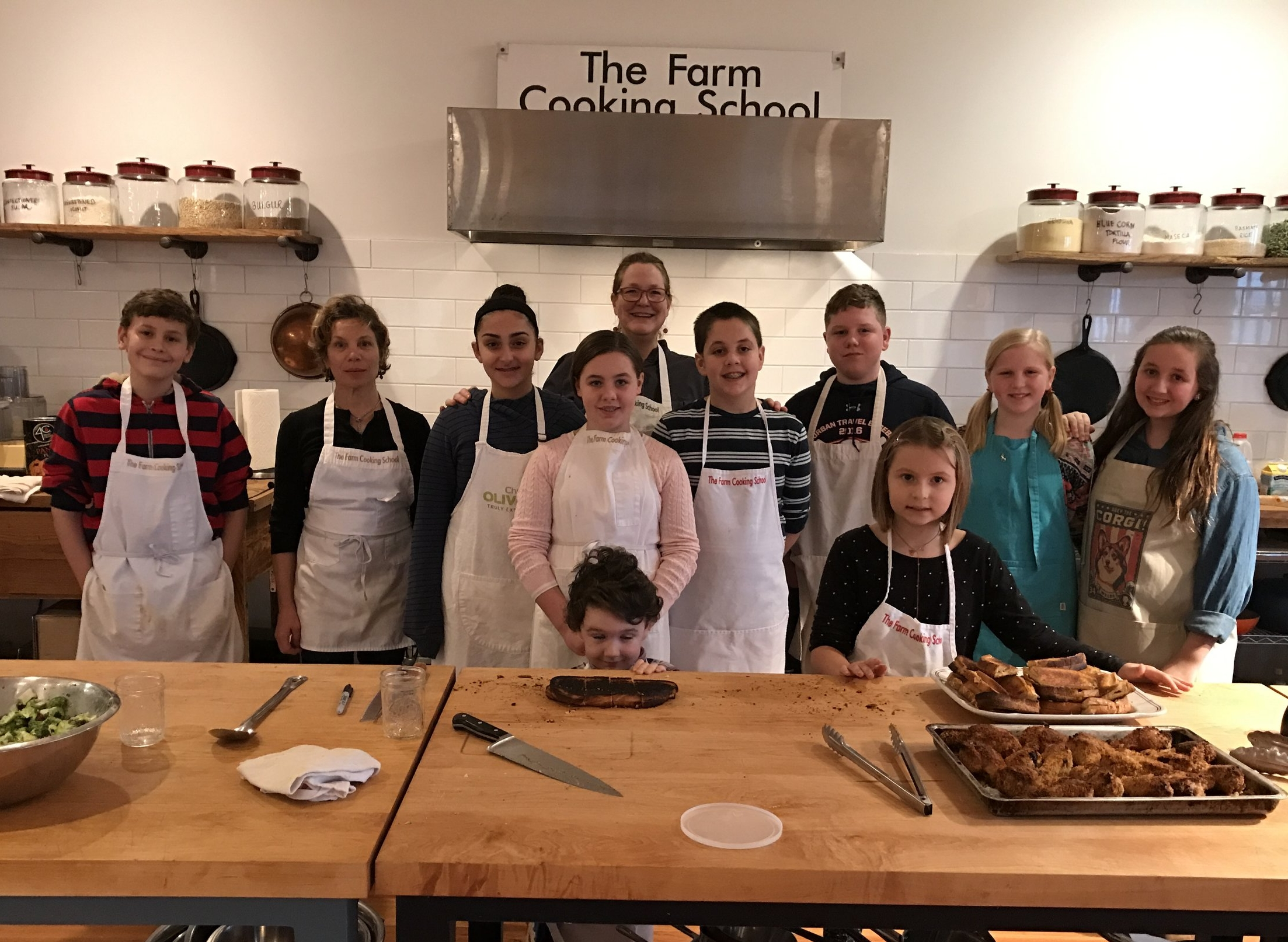 Summer Camp 2017 with Chef Shelley