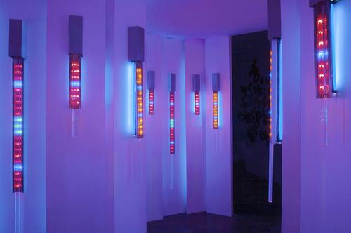 Luminous Layers at  Dam, Stulhtrager Gallery (2005)