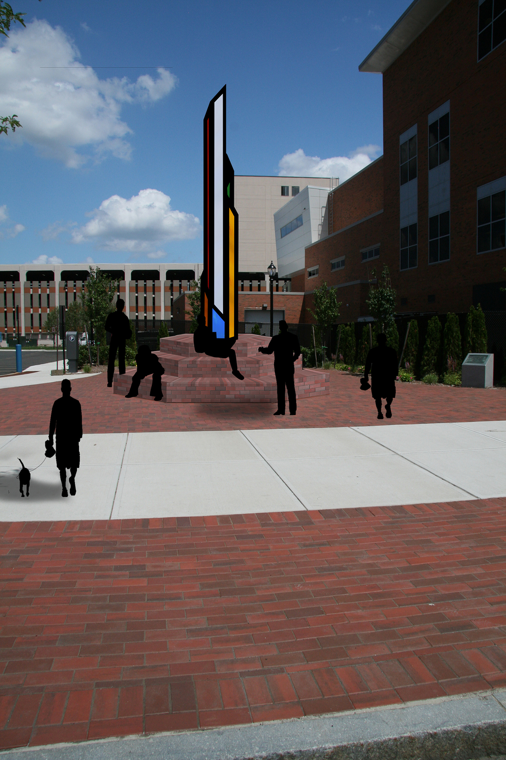 Daytime view form Central Connecticut State University.