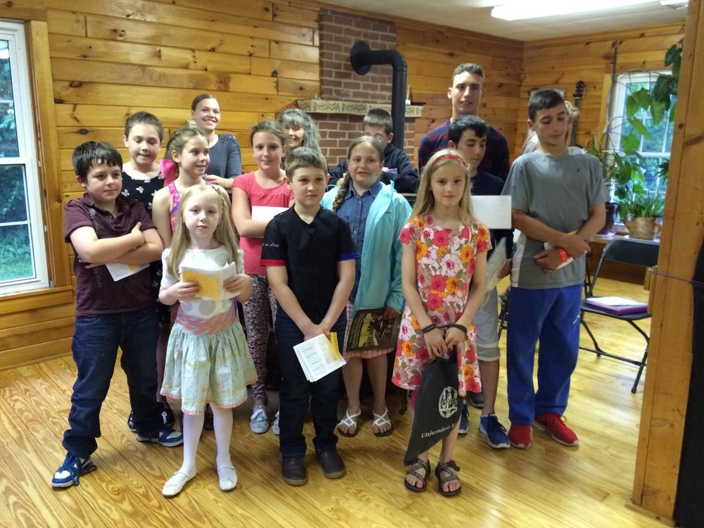 4:30 pm Recital Performers - May 31, 2015