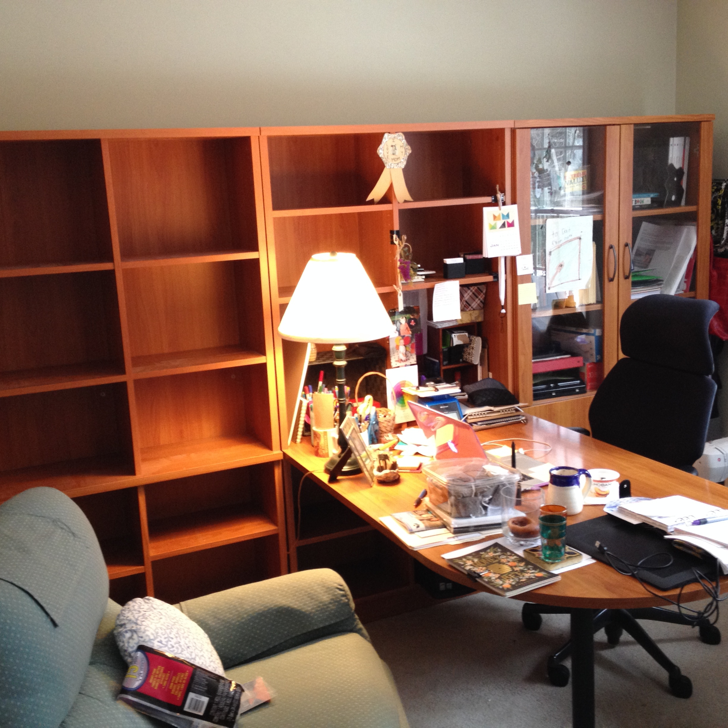 """My old office set-up - looks and feels like an """"office"""""""