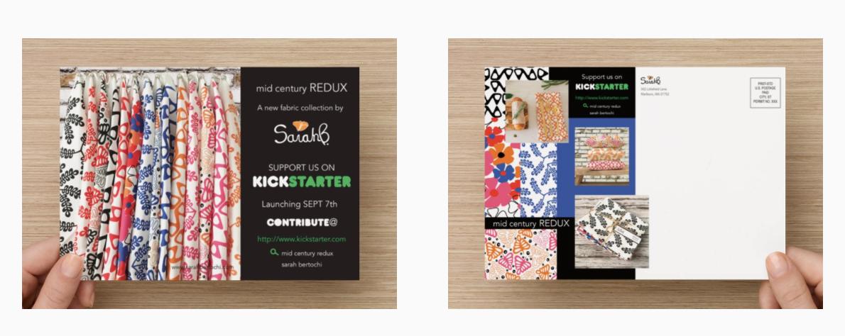 Kickstarter Postcards