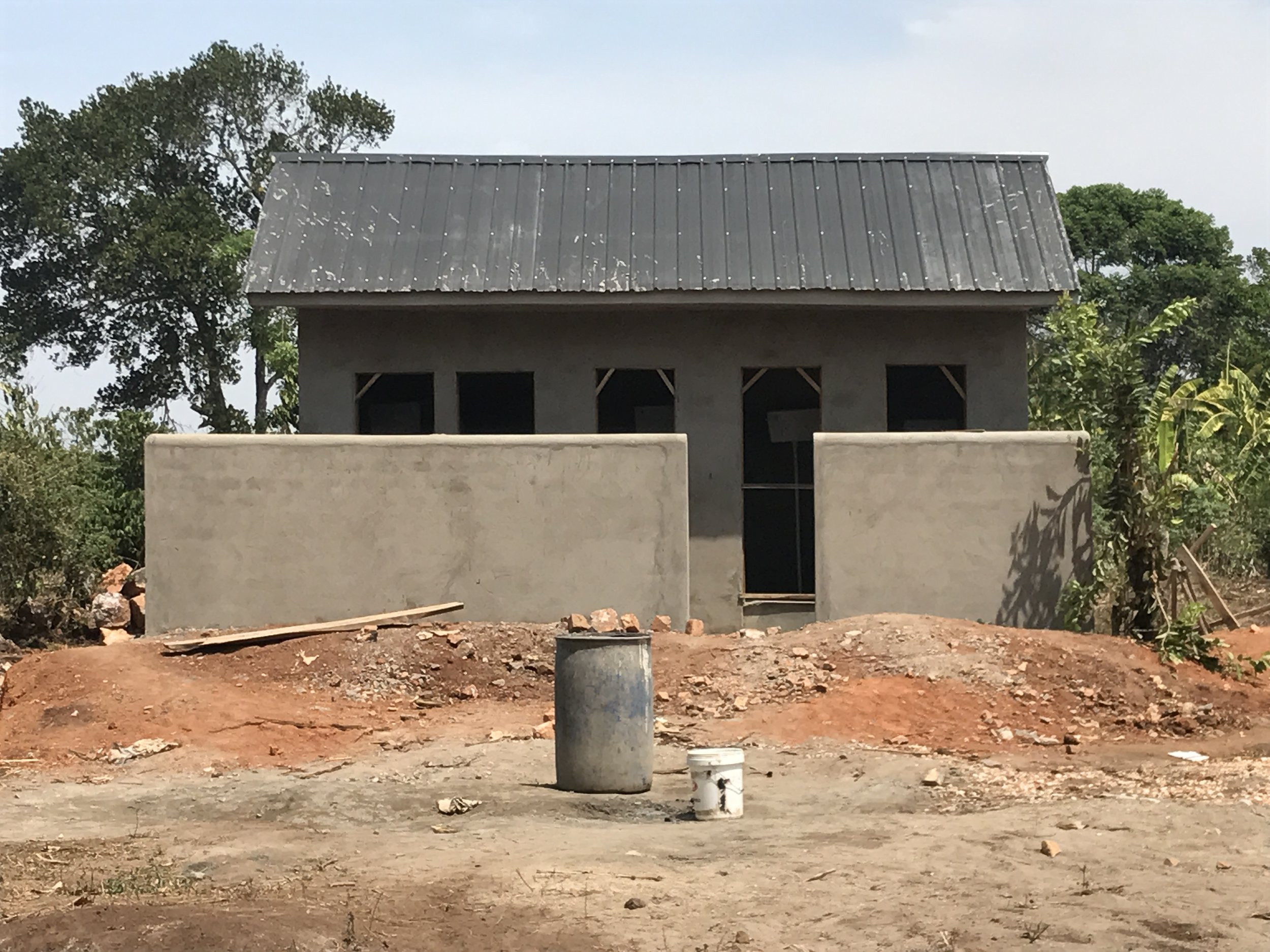 One of the 3 Children's Cottage Shower and Latrines