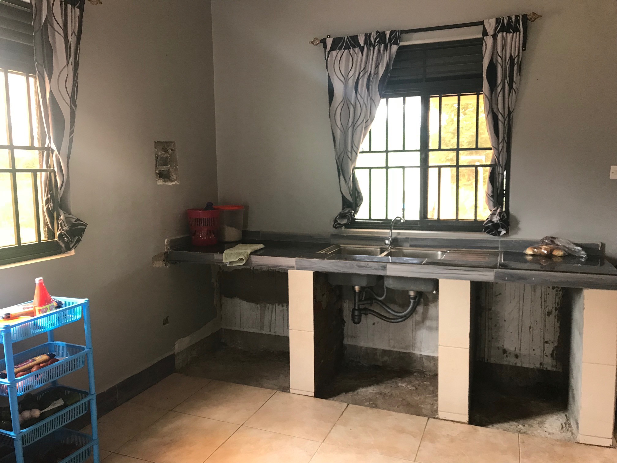 Kitchen (needing cabinets)