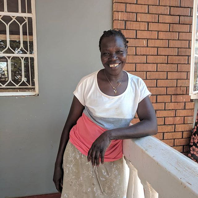 Meet Auntie Dorothy! Dorothy grew up in Arua and comes from a family of 12 siblings (6 boys and 6 girls). Dorothy is one of three remaining siblings, 9 have passed on. Dorothy now has 5 children of her own! She has been working with Sonrise for three years now. Her morning starts at 6:45 every day. She bathes the babies, puts them on the potty, dresses them and has them ready for breakfast at 8. While the babies eat she cleans her room and then plays with the babies. She feeds them lunch and puts them down for nap while she goes and washes clothes. When the babies wake up she takes them for a walk and then helps feed them dinner. She then finishes up washing clothes while the babies go to bed. She also takes care of Musa (our little boy with HIV) and makes sure he takes his medicine every day and is improving! Since working at Sonrise she has been able to get help and be able to pay for her Children's school fees:) she is also learning how to pray being at Sonrise.  When she isn't working at the baby home she cooks and sells maize (corn) for extra income, she loves repairing mud houses and loves sleeping when she doesn't have something to be doing! -Thank you Auntie Dorothy for all your work and love for our babies!!! To give to Sonrise Baby Home go to: www.sonriseministriesinc.org#donate_bh  #SonriseBHome #SonriseBStaff