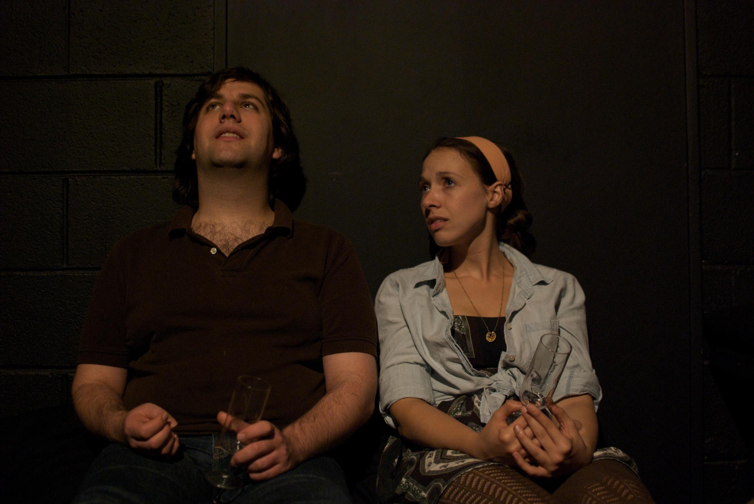 Zev Valancy and Susan Myburgh
