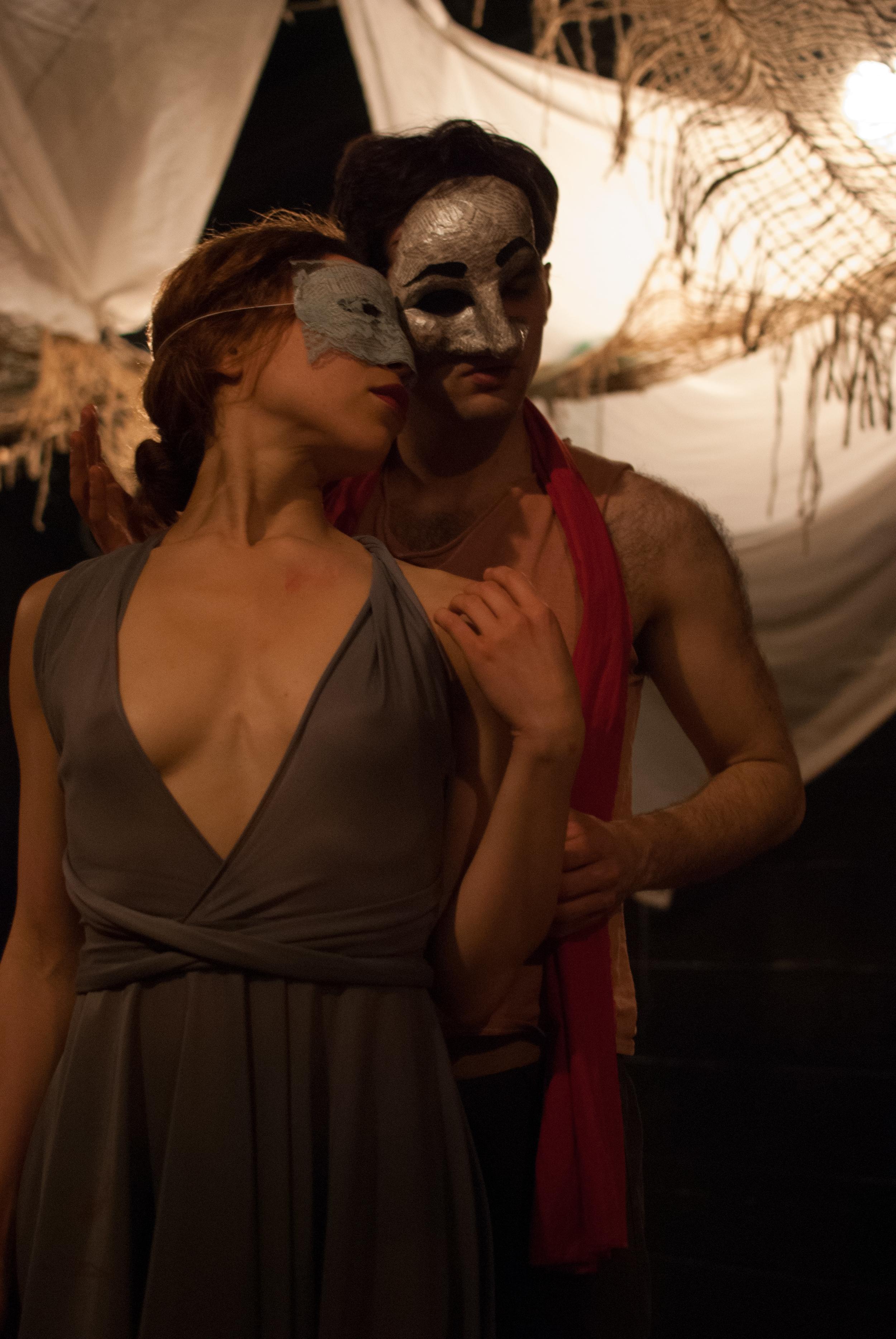 Corina Morris and Alex Potanos