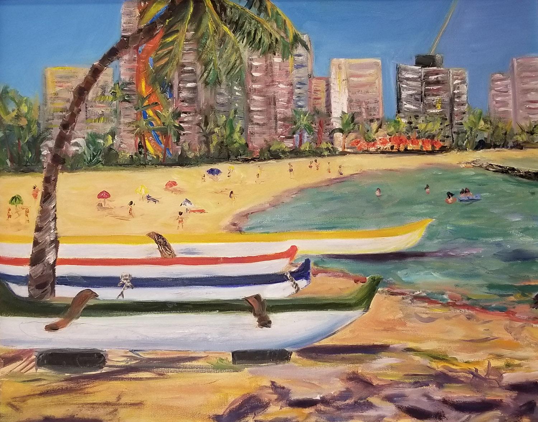 Hilton Beach Waikiki