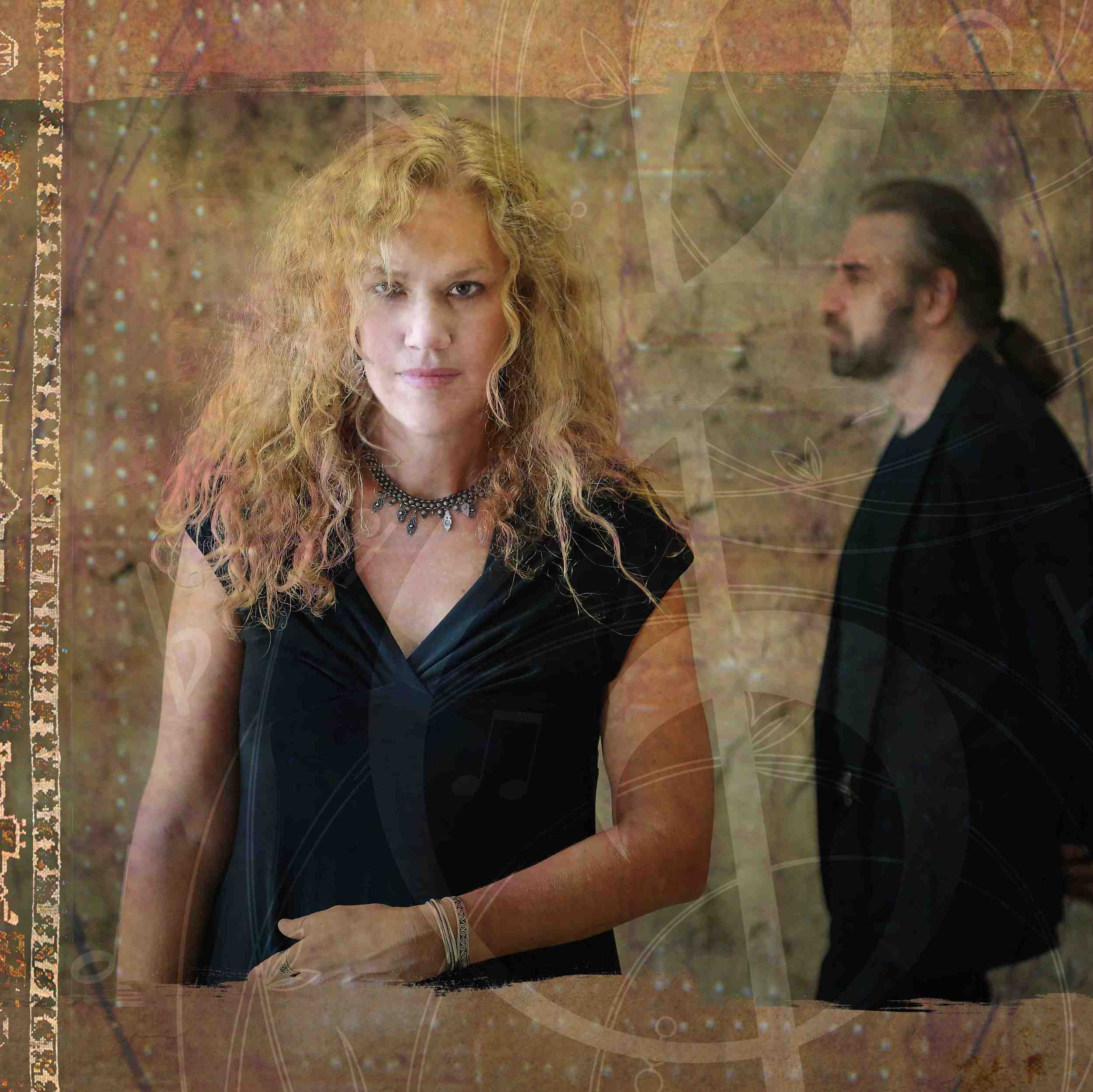 Epiphany Project:Bet Williams - voice, John Hodian - piano und Mal Stein- drums/percussion