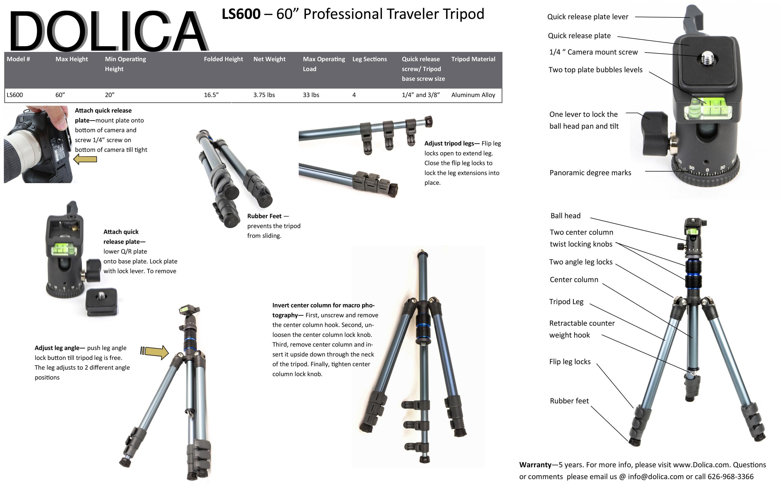LS600 Pro Manual
