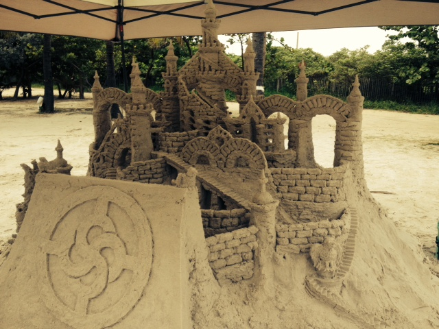 NAWBO Sand Castle: Opening celebration at Nikkei Beach, South Miami Beach