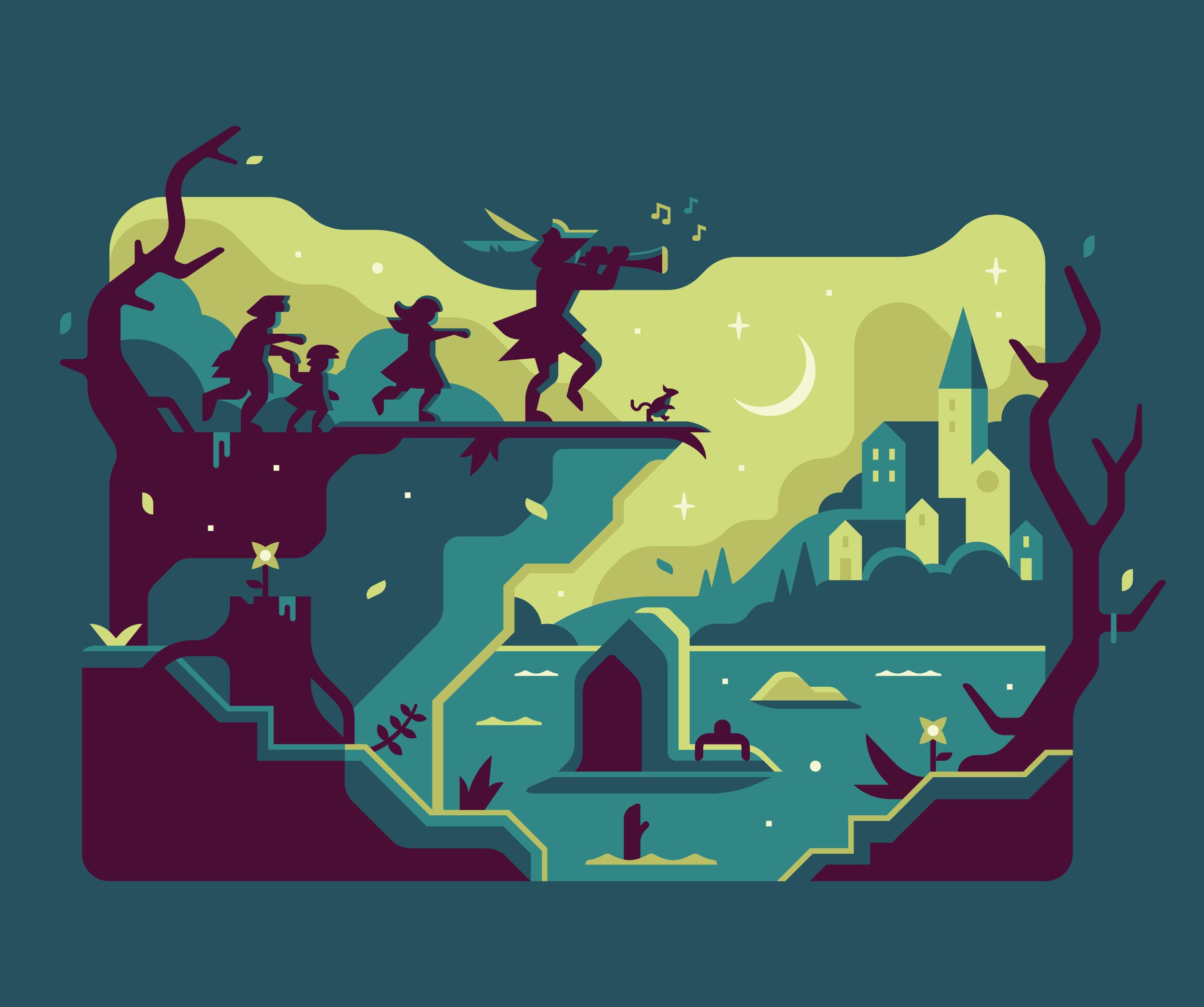 Fandom: Dark Fairytales — Matt Anderson Design & Illustration