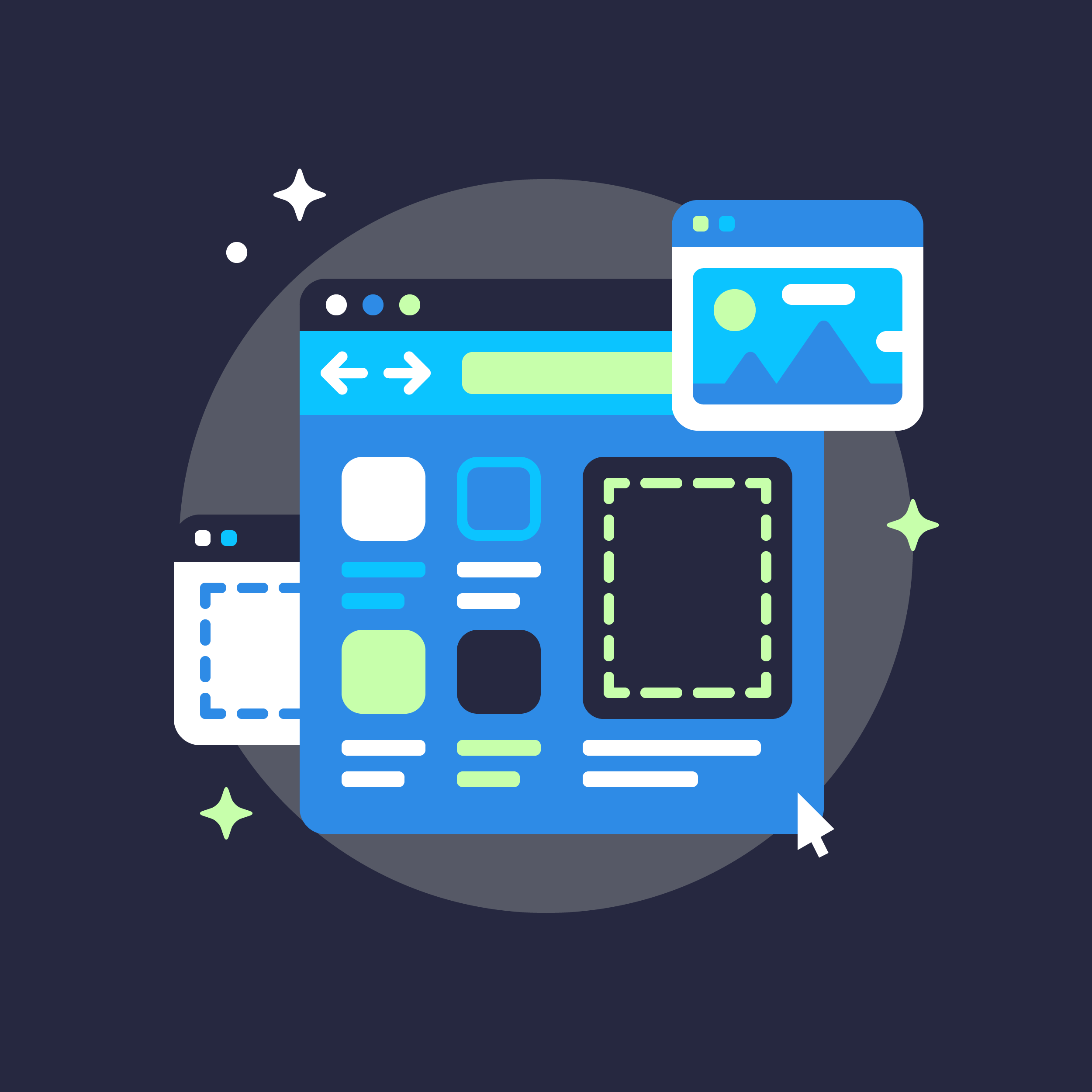 Matt Anderson spot illustrations for Ui8 - Wireframes