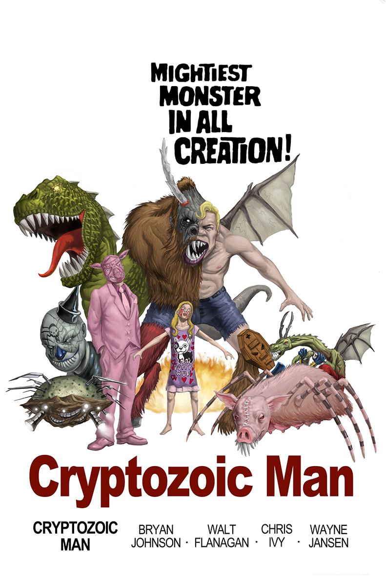 Cryptozoic Man variant cover 6
