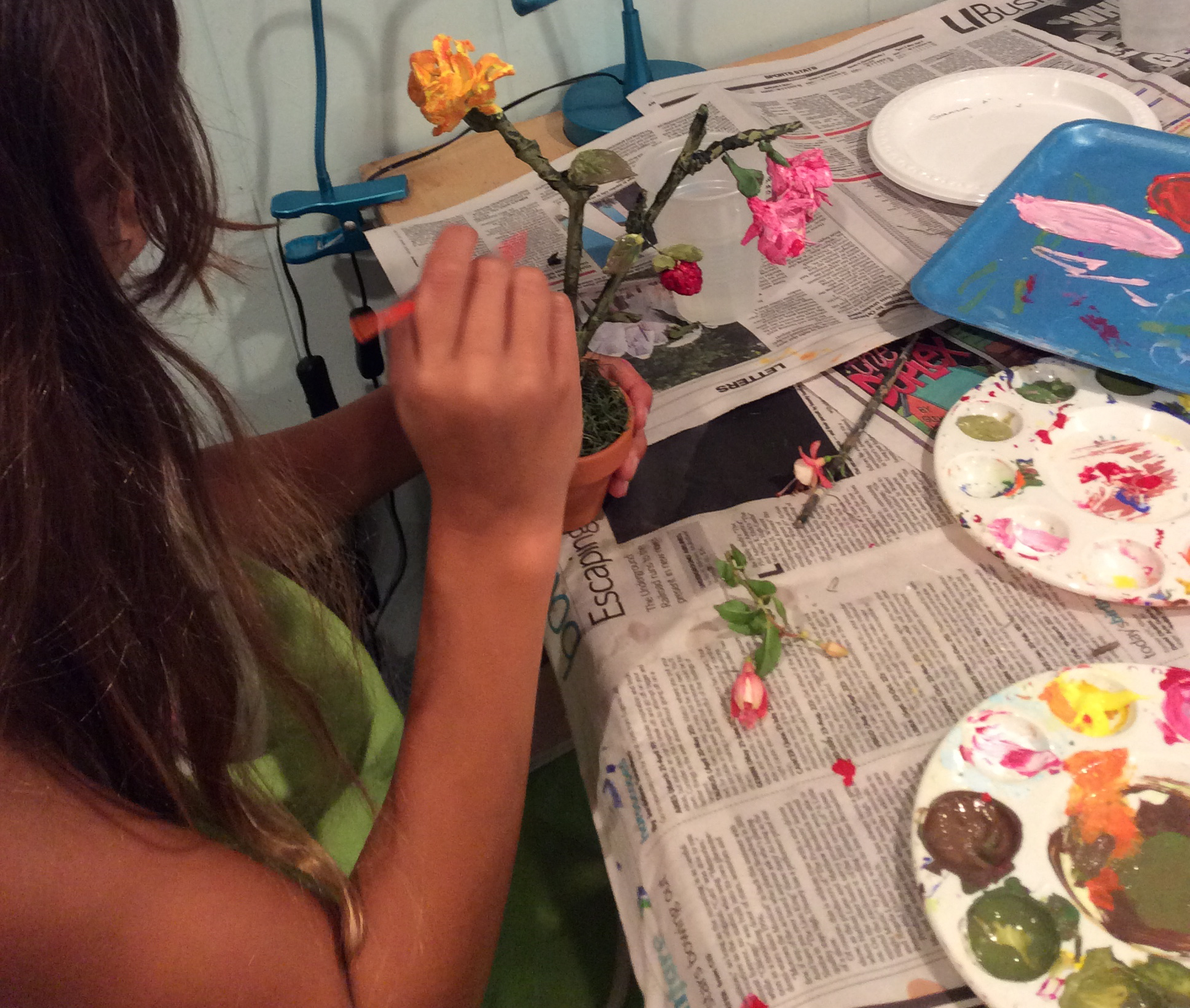 CHILDREN'S ART CLASSES -