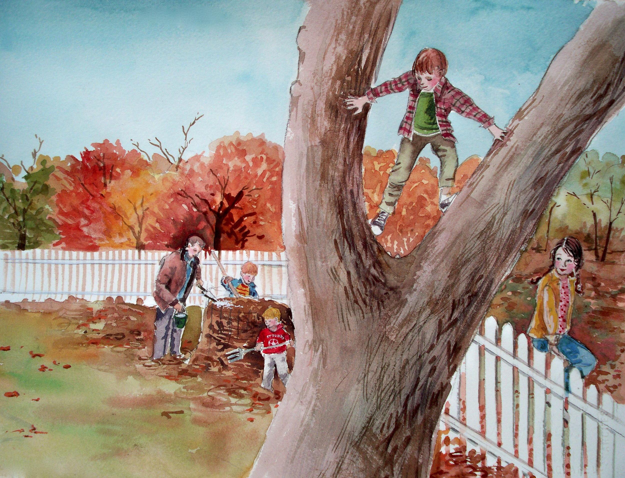 The Dirtmaker - Danny in Tree.jpg