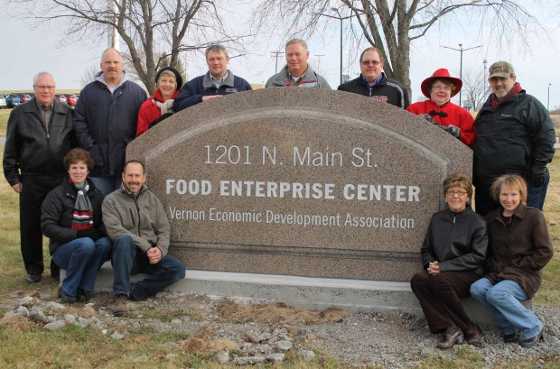 Since opening in late 2012, the Food Enterprise Center in Viroqua WI has added 14 tenants employing 45 people. It's a new local food focused strategy for the county's economic development organization. (Photo: Driftlessnotes.com)