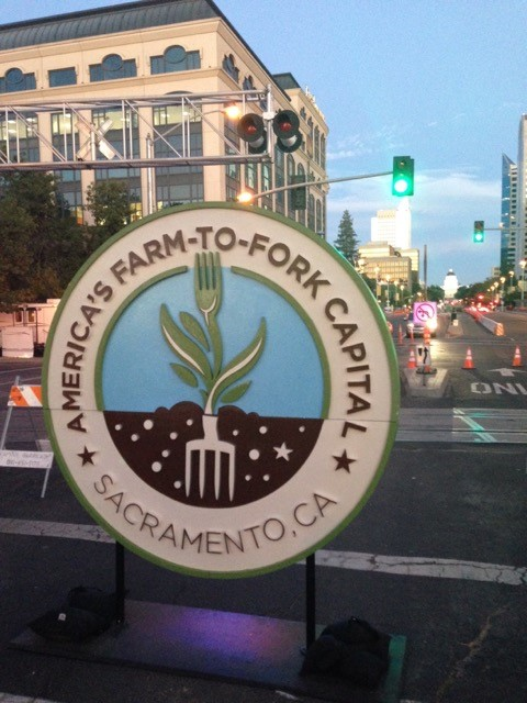 More than a slogan, Sacramento's new brand —  America's Farm-to-Fork Capital  — speaks for a region-wide focus on building the farm-to-table value chain.  Credit: Valley Vision