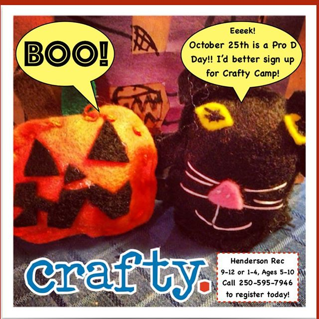 Only a few spots left!! Spooooky games and art projects for all the ghouls and boys 👻🎃