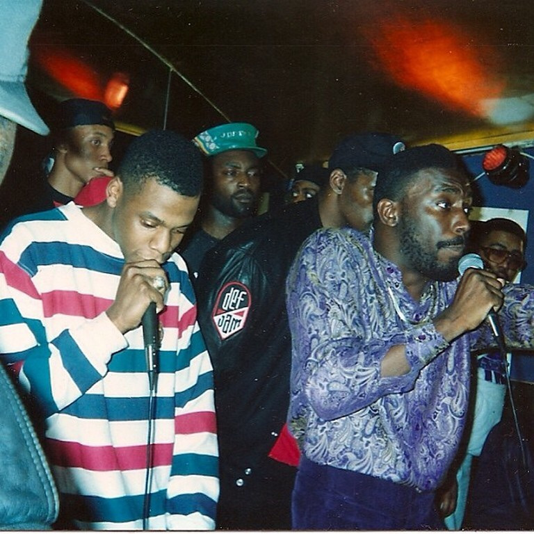 Jay-Z with Big Daddy Kane