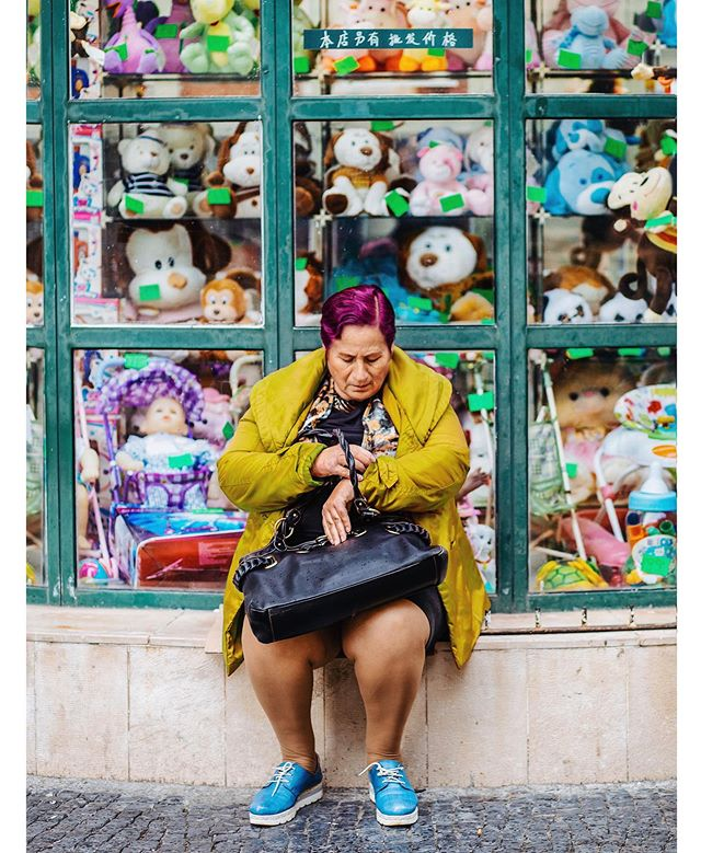 Dreaming of colorful Lisbon on this gray ole day. @moment #theretherefestival