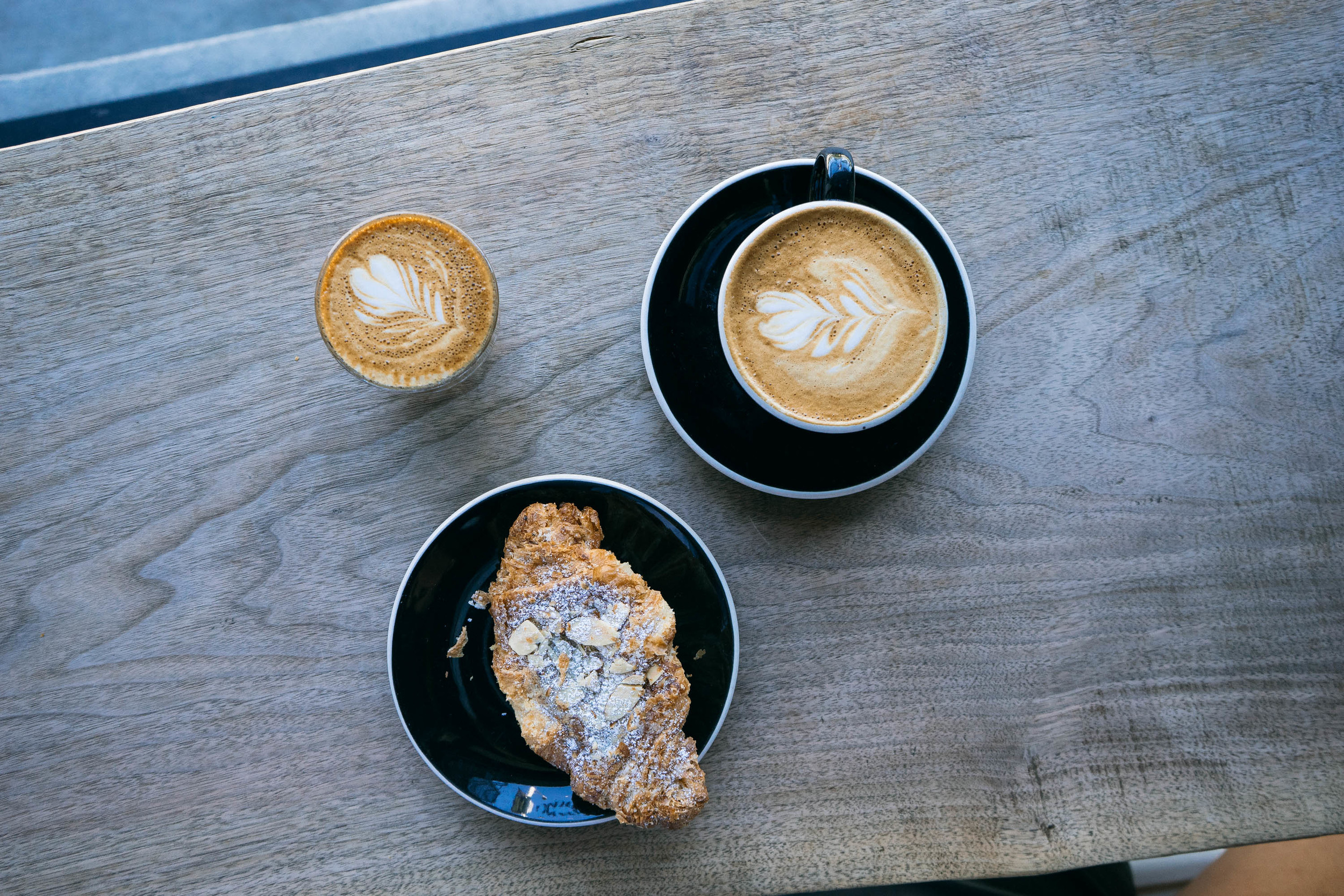 Coffee at Flywheel Coffee Roasters