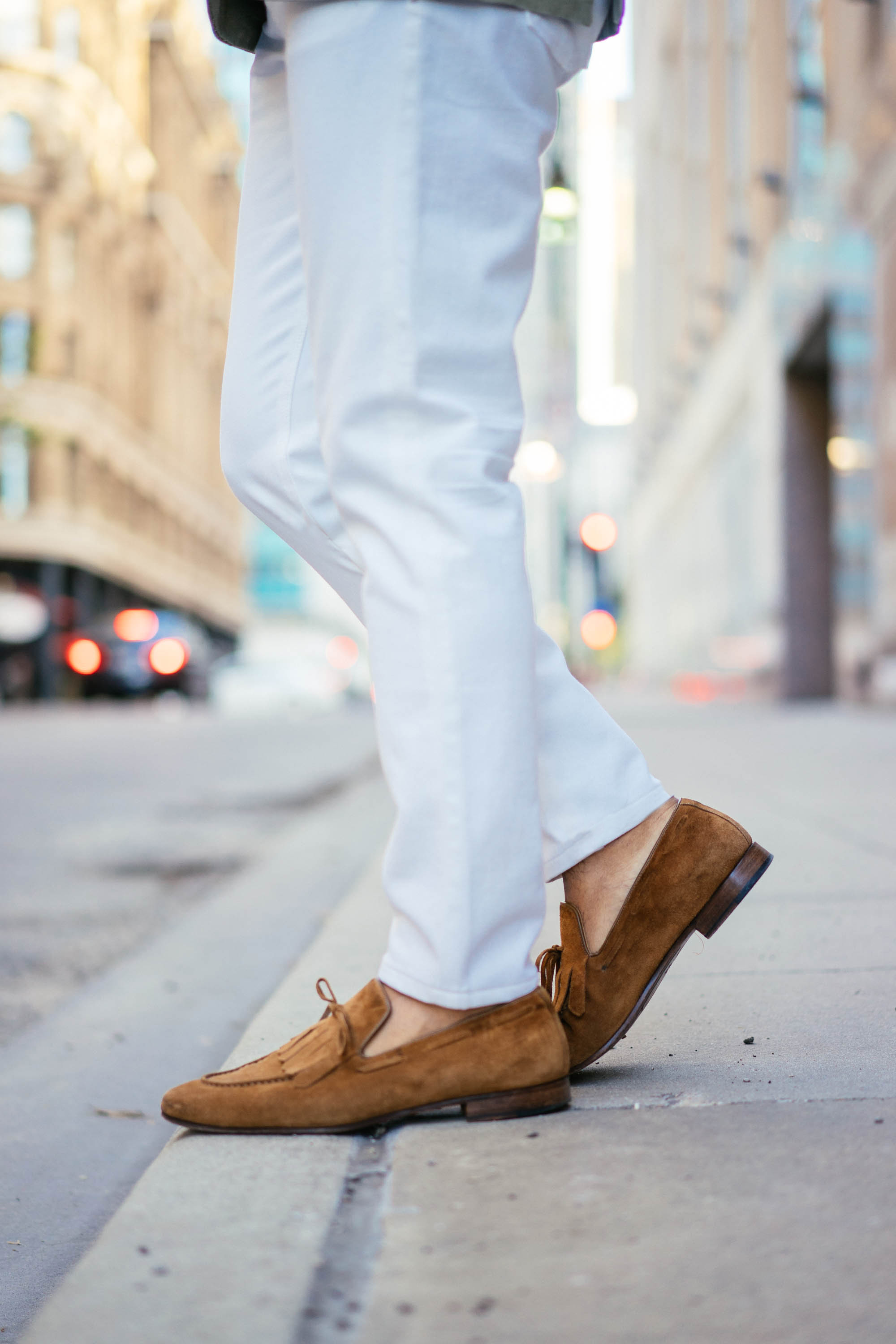 Possibly the biggest benefit of spring for me: sock-less loafers