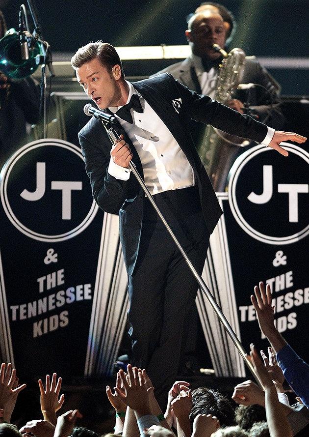 Justin Timberlake Grammy Awards 2013