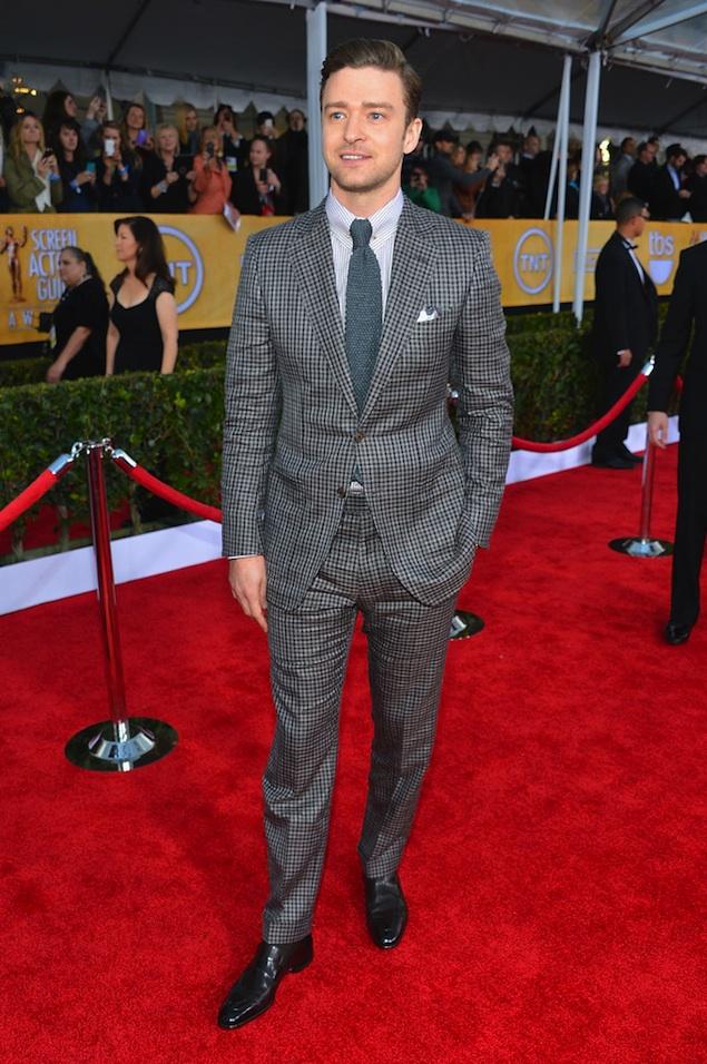 Justin Timberlake SAG Awards 2013