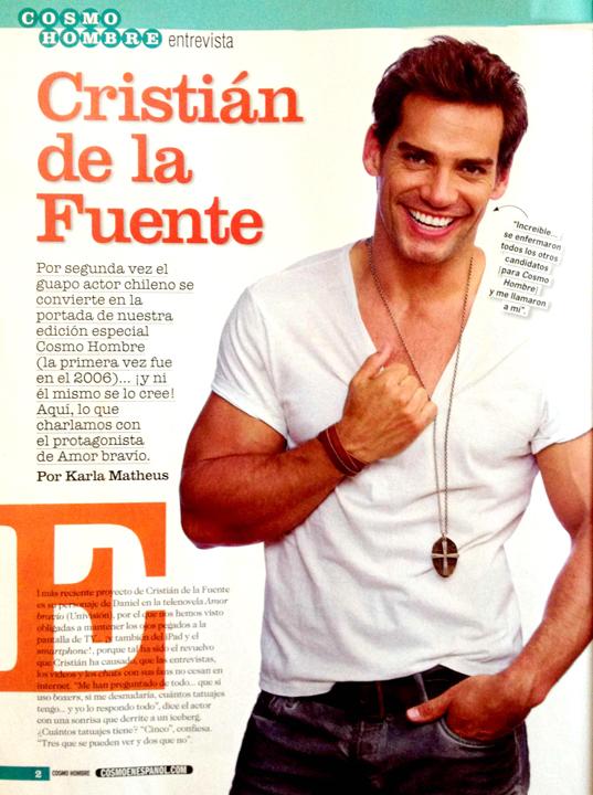 Christian de la Fuente for Cosmopolitan