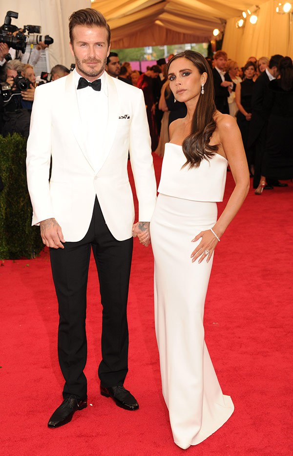 Met Ball 2014, she looks amazing in her own design, but HIM... oh god.
