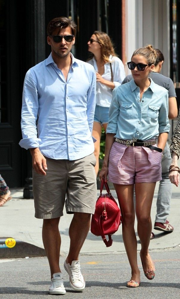 Every guy has some version of this, just simplify and find a good fitting shirt, and not-too-long shorts.