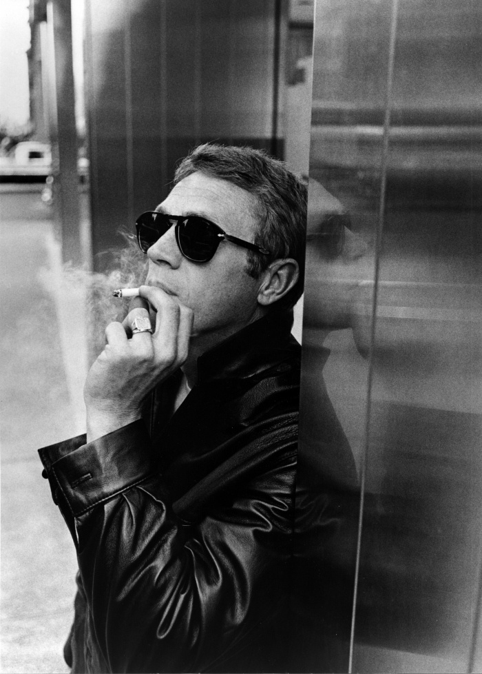 He made moto-style chic, and made his Persol sunglasses famous.
